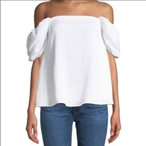 Club Monaco Off Shoulder Top